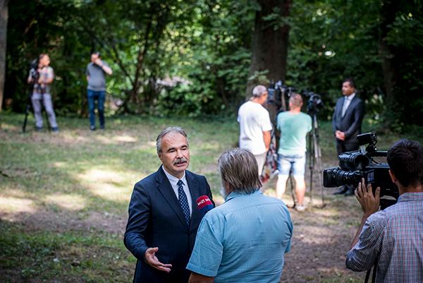 Jelentősen növekszik az erdőtelepítések támogatására fordítható összeg - mondta Nagy István agrárminiszter - Fotó: Pelsőczy Csaba MTI