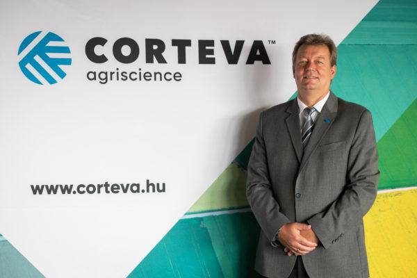 Borsos László, a Corteva Agriscience Magyarország ügyvezetője a hazai helyzetet mutatta be a médianapon