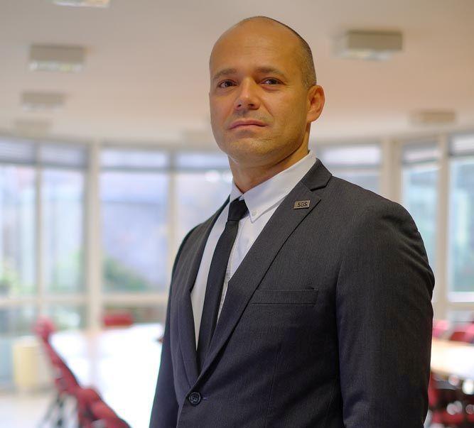 Párkányi Gábor az SGS Hungária Kft. üzletágvezetője