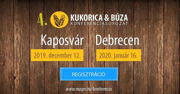 A Magro KUKORICA és BÚZA Konferenciasorozat idén is két helyszínen várja a gazdákat
