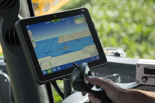 Ag Leader kezelőfelület – minden műveletnél, minden gépkapcsolatnál használható (Fotó: Magtár GPS)