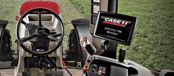 Az AFS Pro 700 monitor a Case IH Puma traktorában - Fotó: Case IH