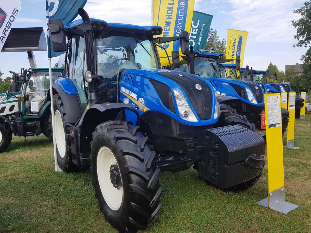 A New Holland is rajta van az 5 legnépszerűbb traktorok listáján (Fotó: Magro.hu)