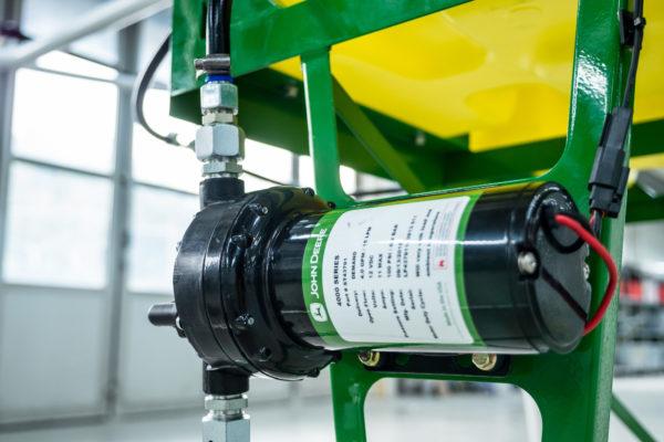 A permetező pumpája a felszerelt permetezőapplikáción - Fotó: © JohnDeere / Volocopter