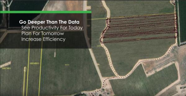 Az AgCode passzív rendszere a napi hatékonyságot is rögzíti és méri - Fotó: Youtube