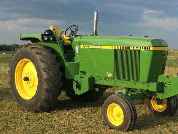 Az egyik leginkább keresett modell a John Deere 4440 traktora (Fotó: 444.hu)