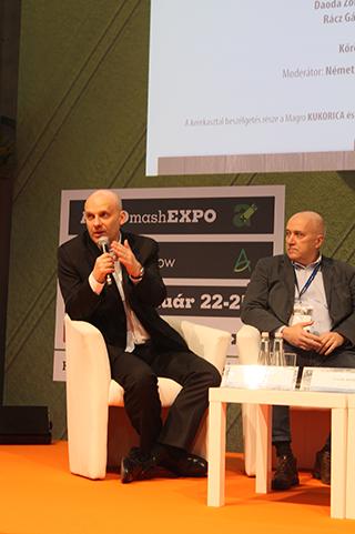 Vörös Ákos, az Agrodat Kft. szakértője szerint a mezőgazdasági gyakorlatban is modernebb gondolkodásra van szükség - Fotó: Magro.hu