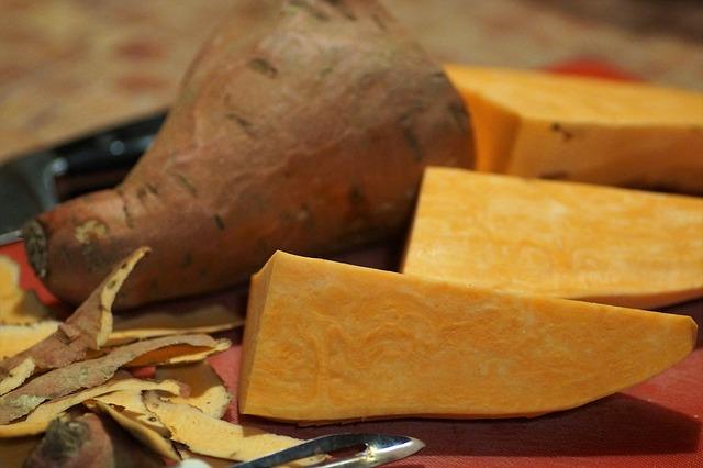 Az édesburgonya nagy mennyiségű C-vitamin forrása is.