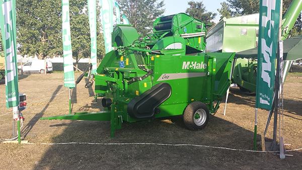 855 millió forintból, 50 százalékos európai uniós támogatással fejlesztette a mezőgazdasági gépgyártást a McHale Hungária Kft. és három további hazai cég.