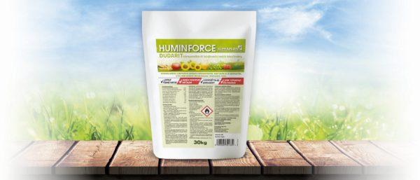 A HuminForce talajkondicionáló magas (50%) humusztartalmának köszönhetően, nagyban segíti a tápanyagok felvételét, raktározását, és a talaj regenerálódását.