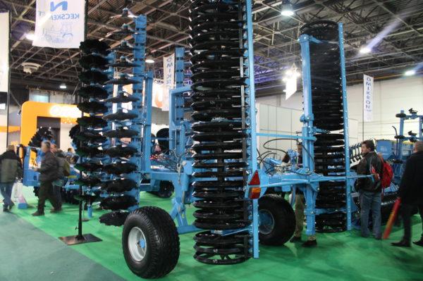 Az OMIKRON Kft. standja a 2020-as AGROmashEXPO és Agrárgépshow rendezvényen - fotó: Magro.hu