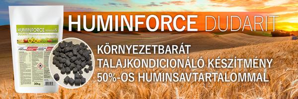 A megoldás a HuminFoce talajkondicionáló készítmény!