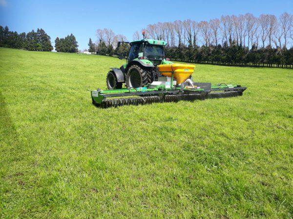 A Spikey® nevű új-zélandi ötlet a legelők vizeletfoltjainak felismerését és kezelését teszi lehetővé - Fotó: Pastoral Robotics
