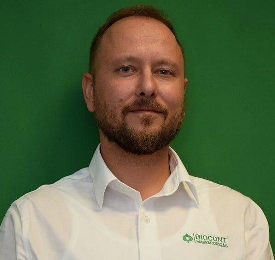 dr. Bőcs András   a Biocont Magyarország Kft. szaktanácsadója