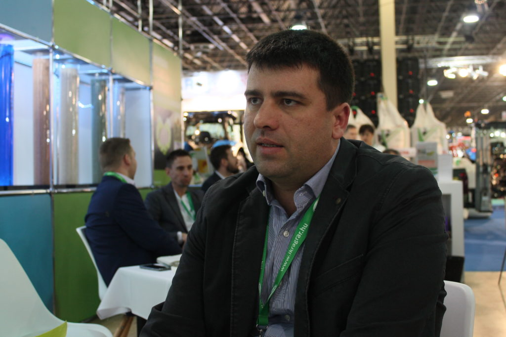 Dr. Márton Lénárd, az IKR Agrár Kft. kereskedelmi igazgatója - Fotó: Magro.hu