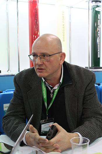 Az IKR Agrár Kft. vetőmag kereskedelmi üzletág igazgatója, Lukács István - Fotó: Magro.hu