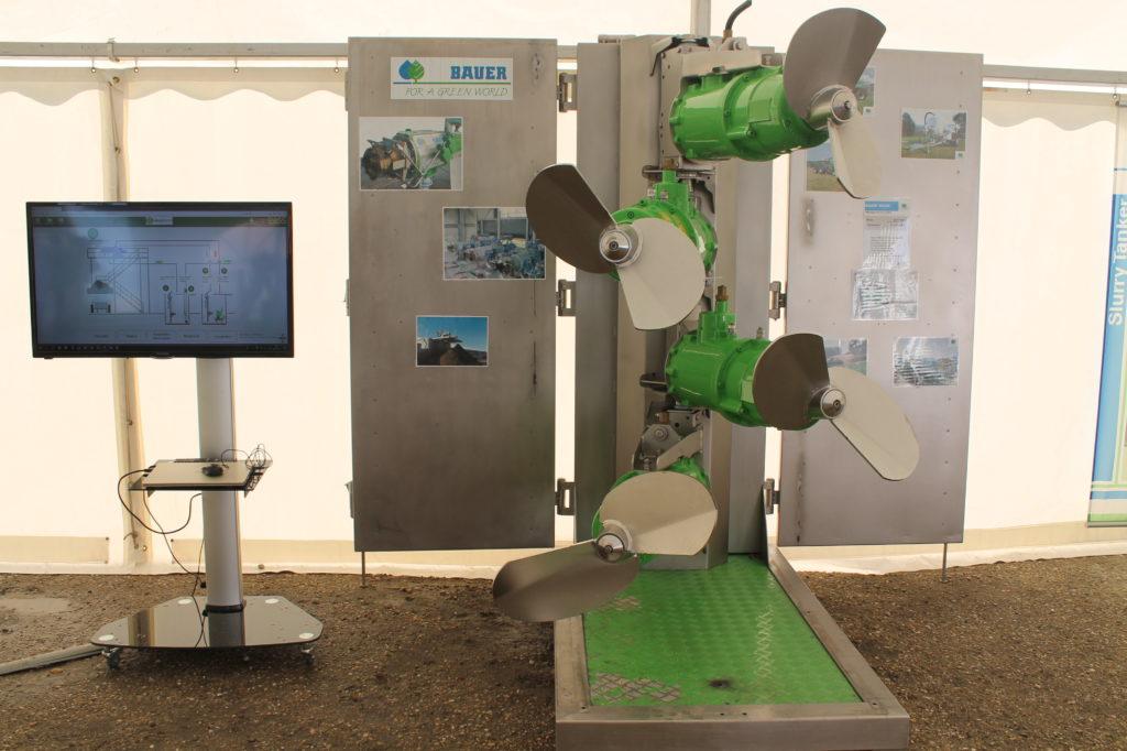 A hígtrágya kezelés és a FAN Bedding Recovery Unit (BRU) technológia fontos része a Bauer MSXH keverő - Fotó: Magro.hu