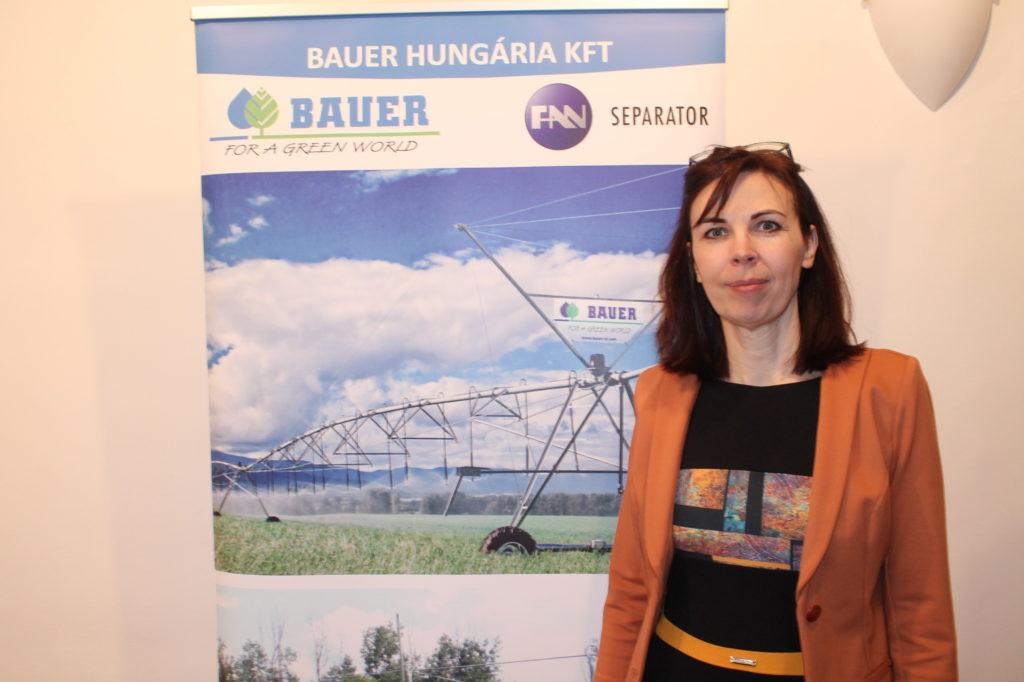 Tóth Éva, a Bauer Hungária Kft. ügyvezetője - Fotó: Magro.hu