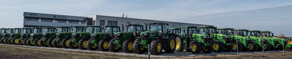 Új John Deere 8R traktorok készletről, árfolyamkockázat nélkül!