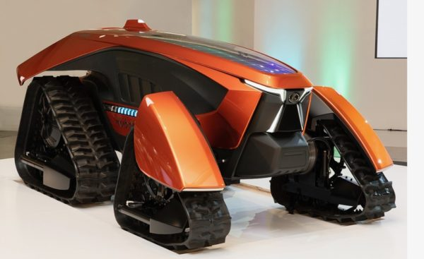 A futurisztikus Kubota X tractor (Fotó: © Kubota)