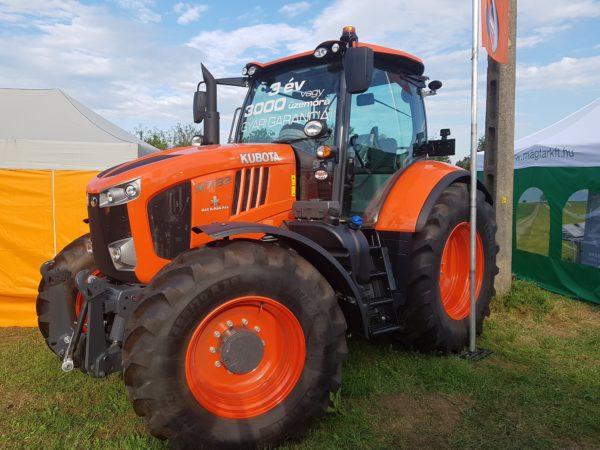 A Kubota márka egyre népszerűbb a gazdálkodók körében, a felmérésben is az élmezőnyben végzett (Fotó: Magro.hu)