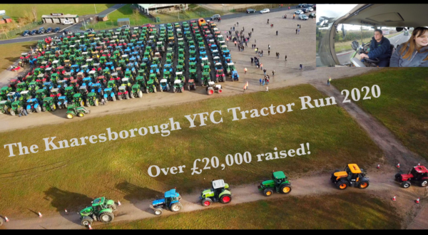 360 traktor vett részt egy elhunyt gazda emlékére rendezett felvonuláson - Forrás: Barker Farming Twitter