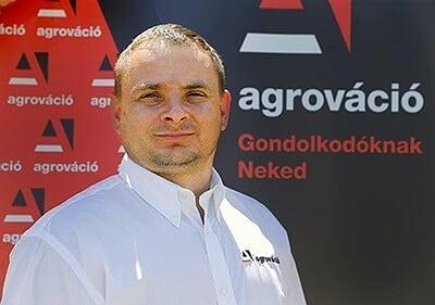 Buda Richárd, az Agrováció Kft. ügyvezetője