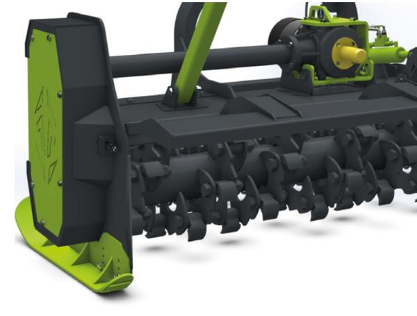 Niubo Tanker mezőgazdasági és erdészeti mulcsózó