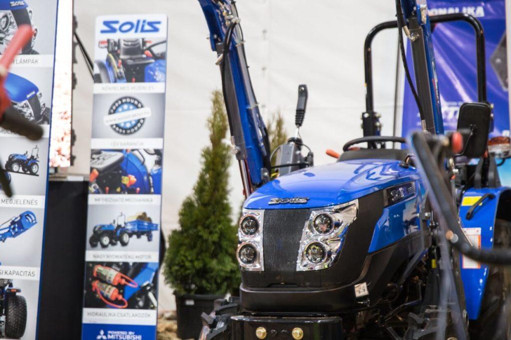 Solis 26 HST hidrosztatikus kistraktor