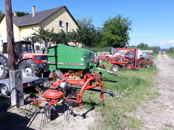 Nem túl jó a kombájnhelyzet Szlovákiában: idős és elavult az agrárgéppark jó része - képünk illusztráció