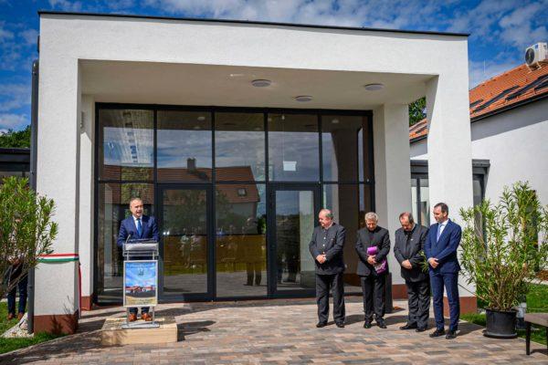 A 22 állami erdőgazdaságnál mintegy 22,4 milliárd forintnyi ökoturisztikai beruházás áll tervezés és kivitelezés alatt - mondta Nagy István agrárminiszter a Göbös-majorban - Fotó: Pelsőczy Csaba