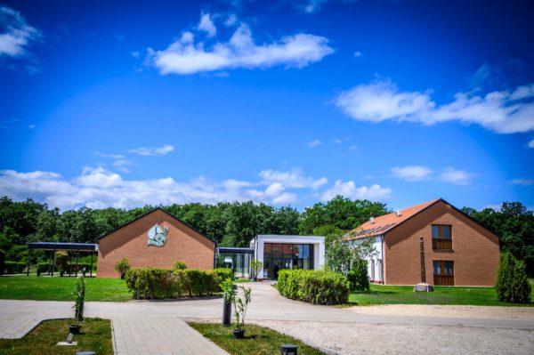A Göbös-majori ökoturisztikai központ -  Fotó: Pelsőczy Csaba
