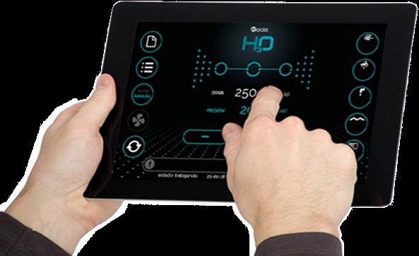 H3O precíziós technológia konzola