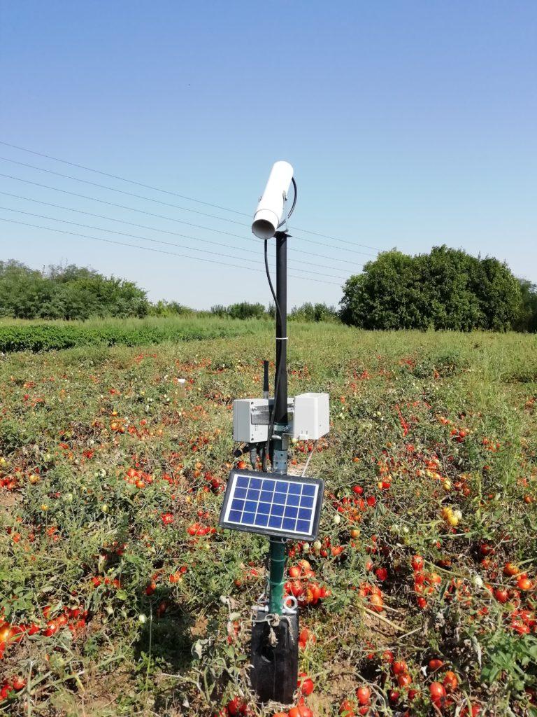Infra TBSL1 mérőállomás csapadékmérővel