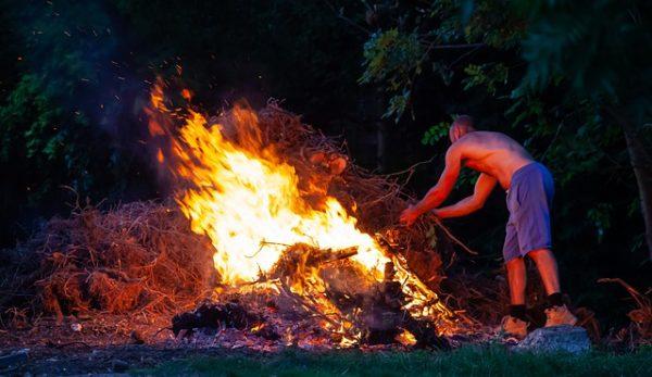Jövő évtől tilos a zöldhulladék égetése. (Fotó: Pixabay, TheOtherKev)