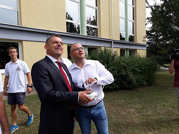 Gyuricza Csaba (balra) irányítja a gödöllői központtal létrejövő agrár-szuperegyetem integrációs folyamatait - Fotó: Magro.hu - CSZS