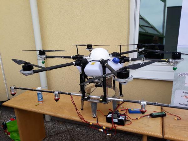 A mezőgazdasági drónok is fontos szerepet játszanak az agrárdigitalizáció folyamataiban - Fotó: Magro.hu - CSZS