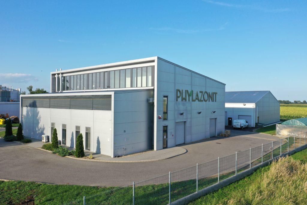 A Phylazonit besztereci gyárának épülete
