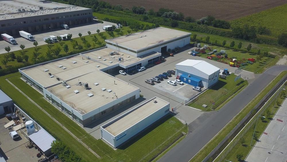 A Szegedi Kutatóközpont látképe