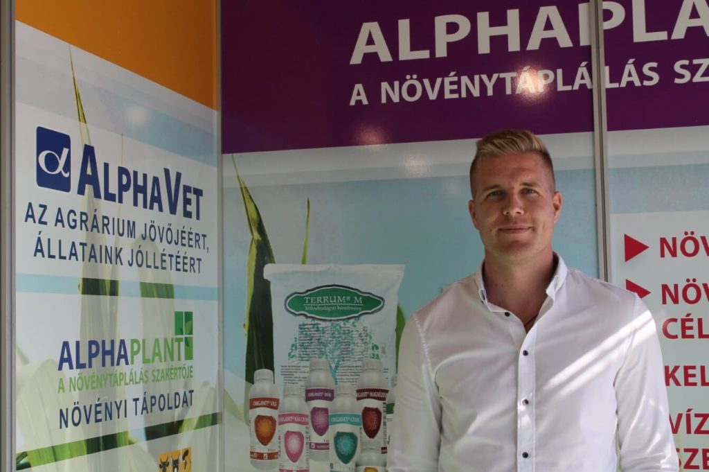Tánczos István az AlphaPlant üzletág igazgatója