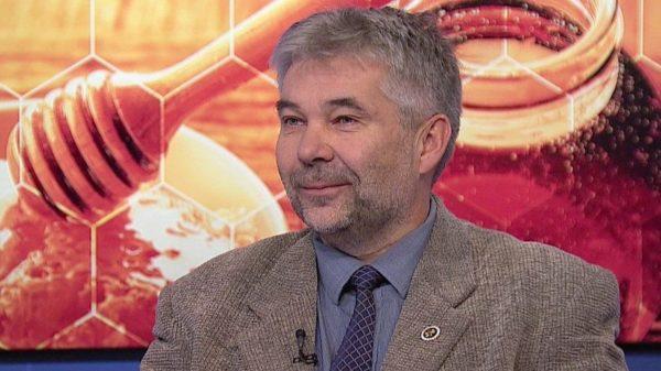 Bross Péter, az Országos Magyarországi Méhészeti Egyesület újraválasztott elnöke - Fotó: Híradó.hu