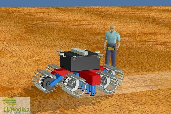 A Robotiller 3D-s terve - Fotó: HWodKa