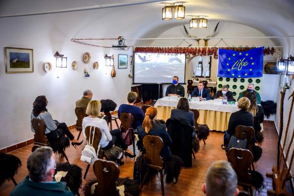 """Sikeresen befejeződött a """"Legelőtavak élőhely-kezelése a Hortobágyon"""" című LIFE projekt - Fotó: Pelsőczy Csaba"""