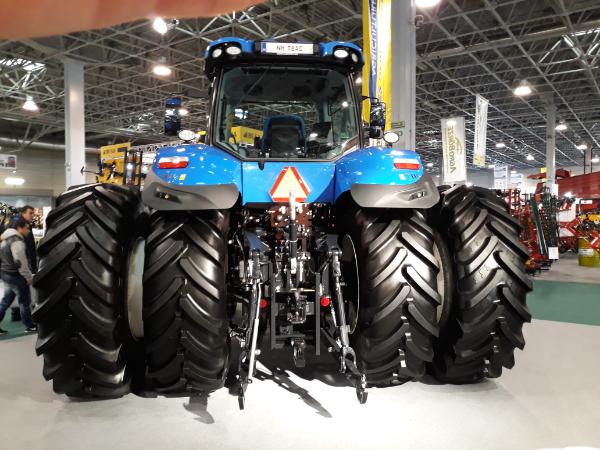 A idei első félévben az előző évinél 19 százalékkal kevesebb, 1316 új kerekes traktor lett a gazdák gépparkjának része - Fotó: Magro.hu, CSZS, Budapest