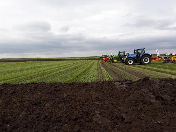 A A talajmegújító gazdálkodás elvei szerint az ekére és a szántásra nincs szükség - Fotó: Magro.hu, CSZS, Mezőfalva