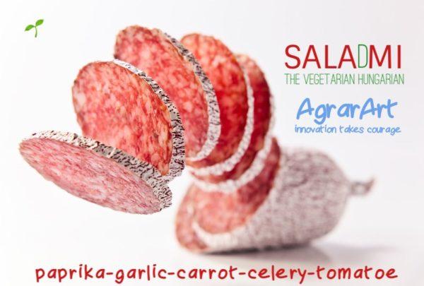 Hús helyett zöldségekből készült különleges szalámi-szabadalom