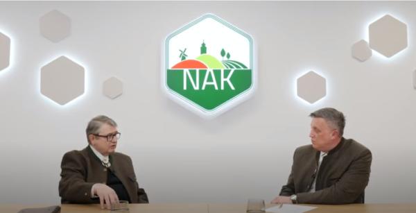 dr. Jámbor Lászlóval (balra), az Országos Magyar Vadászkamara elnökével beszélgetett Győrffy Balázs, a Nemzeti Agrárgazdasági Kamara elnöke a hazai vadászat aktuális helyzetéről, illetve a jövőbeni tervekről és lehetőségekről