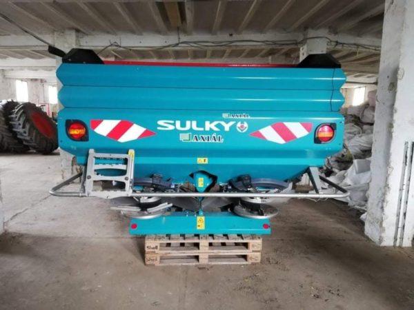 A Sulky X40 WPB Econov mérleges műtrágyaszóró