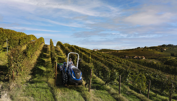 A New Holland biometán-meghajtású traktor prototípusa