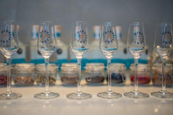 Kitöltött gin adagok Bodrogkisfaludon
